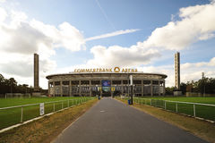 Frankfurt soccer stadium arena - Commerzbank Arena Stock Photo