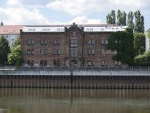 Frankfurt-Speicher Royaltyfri Foto