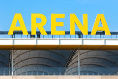 Frankfurt Sports Stadium Royalty Free Stock Images