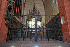 Frankfurt St Bartholomew cathedral Stock Photos