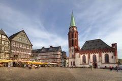 Frankfurt stadfyrkant Royaltyfria Bilder