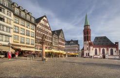 Frankfurt stadfyrkant Royaltyfri Foto