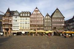 Frankfurt stadfyrkant Fotografering för Bildbyråer