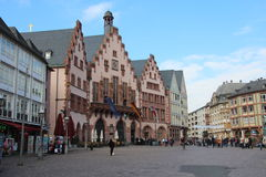 Frankfurt stadshus Royaltyfria Bilder