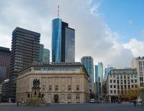Frankfurt stadssikt Royaltyfria Foton