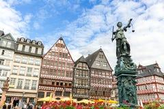 Frankfurt stary miasteczko Obrazy Royalty Free