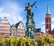Frankfurt Stary miasto Fotografia Royalty Free