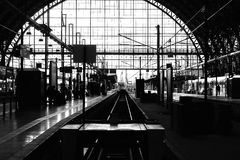 Frankfurt station Royalty Free Stock Photos
