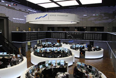 Frankfurt Stock Exchange Stock Photography