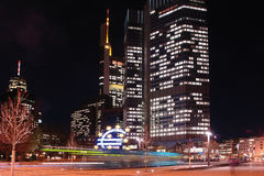 frankfurt strömförsörjning Royaltyfria Foton