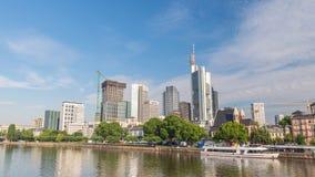 Frankfurt Tid schackningsperiod arkivfilmer