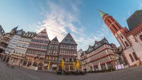 Frankfurt Tid schackningsperiod stock video