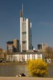 frankfurt tower Στοκ Φωτογραφίες