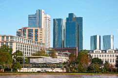 Frankfurt Towers Royalty Free Stock Photo