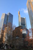 Frankfurt towers Royalty Free Stock Images