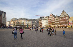 Frankfurt Town Square Royalty Free Stock Image