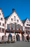 Frankfurt traditionella hus Fotografering för Bildbyråer