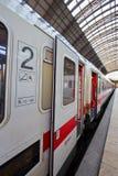 Frankfurt train station Stock Photo