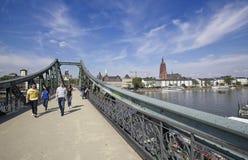 Frankfurt Tyskland royaltyfri fotografi