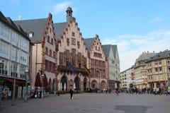 Frankfurt urząd miasta Obrazy Royalty Free