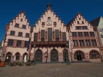 Frankfurt urząd miasta Zdjęcie Royalty Free