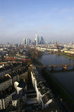 Frankfurt-Vertikale Stockfotos