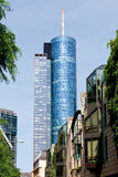 Frankfurt,View of maintower,Helaba Landesbank,and skyscr Royalty Free Stock Photography