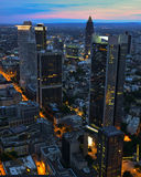 Frankfurt view Royalty Free Stock Images
