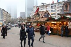 Frankfurt-Weihnachten Lizenzfreie Stockfotografie