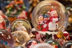 Frankfurt-Weihnachtsmarkt-Dekoration Lizenzfreie Stockfotos