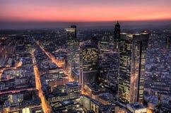 Frankfurt Westend Royalty Free Stock Images