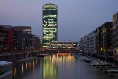 Frankfurt Westhafen Stock Afbeelding