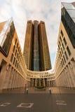 Frankfurt wysoki budynek w Niemcy, fotografia royalty free