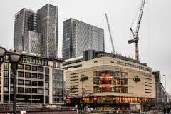Frankfurt zakupy centrum handlowe Obrazy Royalty Free