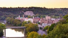 Frankfurter, Kentucky, U.S.A. stock footage