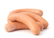Frankfurter sausage Royalty Free Stock Images