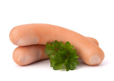 Frankfurter sausage Royalty Free Stock Photo