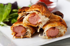 Frankfurter sausages Royalty Free Stock Photos