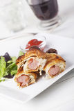 Frankfurter sausages Stock Photo