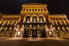 Frankfurterkorv Musikverein Wien royaltyfria bilder