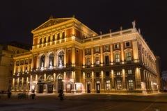 Frankfurterkorv Musikverein Wien arkivbilder