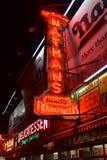 Frankfurters первоначально Натана - остров кролика, Бруклин, NY Стоковая Фотография