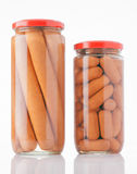 Frankfurters preserved Stock Photos