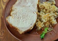 Frankfurterworst Rippchen stock afbeelding
