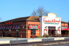 Frankie and bennys restaurant. Royalty Free Stock Images