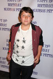 Frankie Jonas, Madison Pettis Stock Image