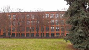 Frankin-Quadratnachbarschaft stock footage