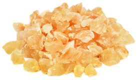 Frankincense dhoop. A natural aromatic resin used in perfumes and incenses Stock Images