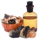 Frankincense dhoop z istotnym olejem zdjęcia royalty free