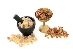 Frankincense and Myrrh stock photo
